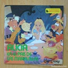 Discos de vinilo: ALICIA EN EL PAIS DE LAS MARAVILLAS - SINGLE. Lote 278691733