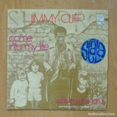 Discos de vinilo: JIMMY CLIFF - COME INTO MY LIFE - SINGLE. Lote 278691928