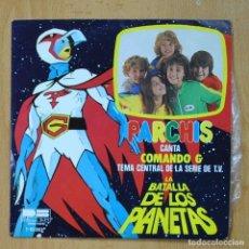 Discos de vinilo: PARCHIS - LA BATALLA DE LOS PLANETAS - SINGLE. Lote 278691998