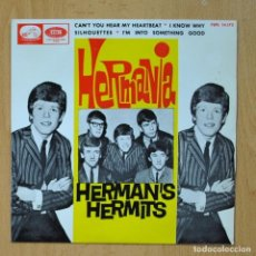 Discos de vinilo: HERMAN´S HERMITS - CAN´T YOU HEAR MY HEARTBEAT + 3 - EP. Lote 278692008
