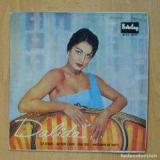 Discos de vinilo: DALIDA - LES GITANS + 3 - EP. Lote 278692038