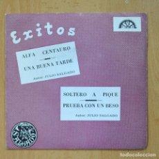Discos de vinilo: JULIO SALGADO - ALFA CENTAURO + 3 - EP. Lote 278692048