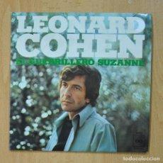 Discos de vinilo: LEONARD COHEN - EL GUERRILLERO SUZANNE - SINGLE. Lote 278692073