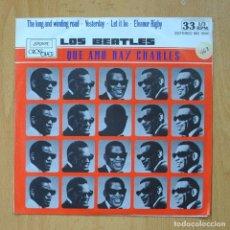 Discos de vinilo: RAY CHARLES - LOS BEATLES QUE AMO RAY CHARLES - EP. Lote 278692108