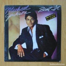 Discos de vinilo: MICHAEL JACKSON - BEAT IT - PROMO - SINGLE. Lote 278692113