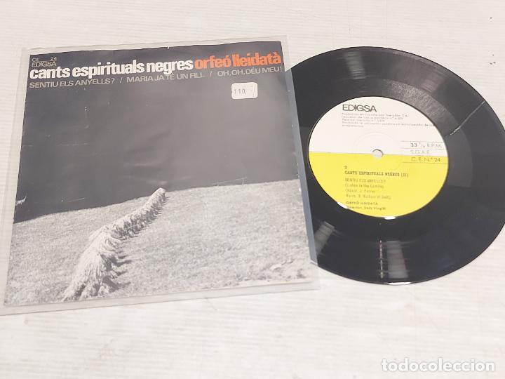 ORFEÓ LLEIDATÀ / CANTS ESPIRITUALS NEGRES (II) / EP-EDIGSA 33R.P.M.-1965 / MBC. ***/*** (Música - Discos de Vinilo - EPs - Funk, Soul y Black Music)