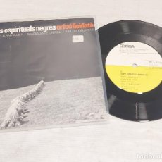 Discos de vinilo: ORFEÓ LLEIDATÀ / CANTS ESPIRITUALS NEGRES (II) / EP-EDIGSA 33R.P.M.-1965 / MBC. ***/***. Lote 278692263