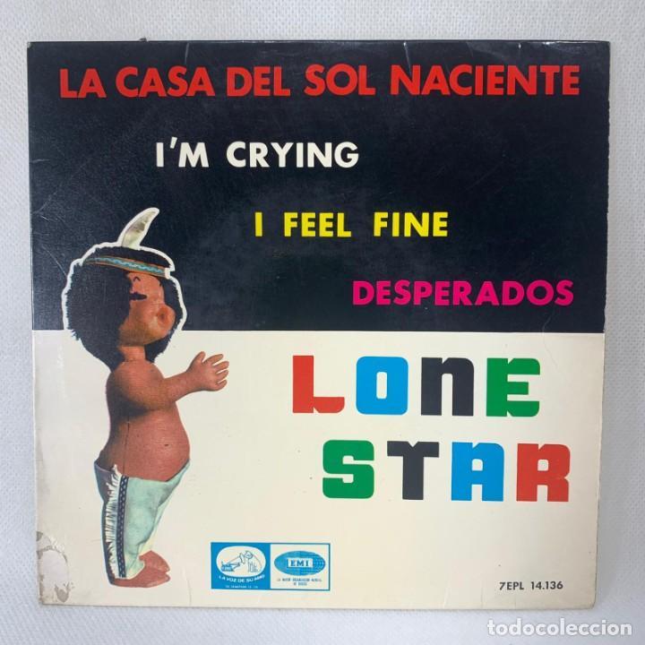 EP LONE STAR - LA CASA DEL SOL NACIENTE - ESPAÑA - AÑO 1964 (Música - Discos de Vinilo - EPs - Grupos Españoles 50 y 60)