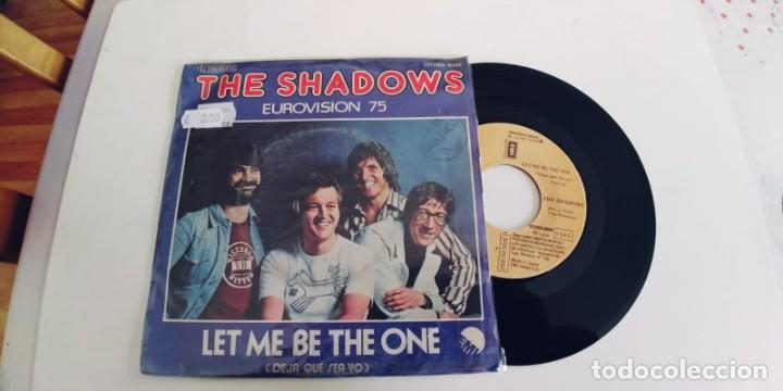 THE SHADOWS-SINGLE LET ME BE THE ONE-EUROVISION 75 (Música - Discos - Singles Vinilo - Festival de Eurovisión)