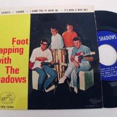 Discos de vinilo: THE SHADOWS-EP ATLANTIS +3. Lote 278694458