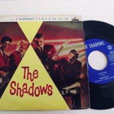 Discos de vinilo: THE SHADOWS-EP KON-TIKI +3. Lote 278694718