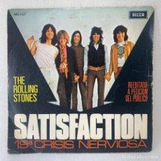 Discos de vinilo: SINGLE THE ROLLING STONES - SATISFACTION - ESPAÑA - AÑO 1971. Lote 278694923