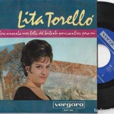 Discos de vinilo: LITA TORELLO - TE IMPLORO AMOR + 3 (EP VERGARA 1964) VINILO EN MUY BUEN ESTADO. Lote 278698383