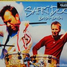 Discos de vinilo: SAFRI DUO * MAXI VINILO * BAYA BAYA * 2001 SPAIN * RARE. Lote 278705028
