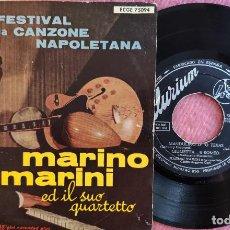 Discos de vinilo: EP MARINO MARINI - MANDULINO D' 'O TEXAS +3 - ECGE 75094 - SPAIN PRESS (VG+/VG++). Lote 278741078