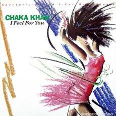 Discos de vinilo: CHAKA KHAN * MAXI VINILO * I FEEL FOR YOU * SPAIN 1984. Lote 278753558