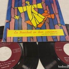 Discos de vinilo: JOSÉ MARÍA ALCÁCER / LA NAVIDAD EN DIEZ CANCIONES / DOBLE EP-GATEFOLD / MBC. ***/***. Lote 278756938
