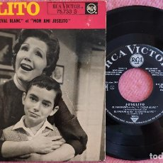 Discos de vinilo: EP JOSELITO - EL EMIGRANTE +3 (LE CHEVAL BLANC) - RCA 75.733 S - FRANCE PRESS (VG++/EX-) BSO. Lote 278758763