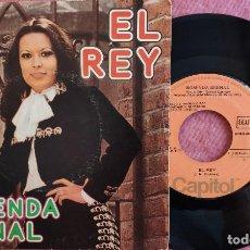 Discos de vinilo: SINGLE ROSENDA BERNAL - EL REY / LA ESPOSA OLVIDADA - EMI J 006-81876 - SPAIN PRESS (EX-/EX-). Lote 278760023