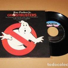 Discos de vinilo: RAY PARKER JR. - LOS CAZAFANTASMAS (GHOSTBUSTERS) - SINGLE - 1984. Lote 278762658