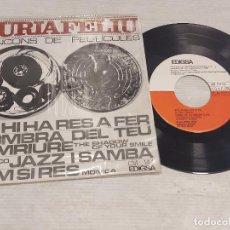 Discos de vinilo: NÚRIA FELIU / CANÇONS DE PEL·LÍCULES / EP - EDIGSA-1966 / MBC. ***/***. Lote 278762688