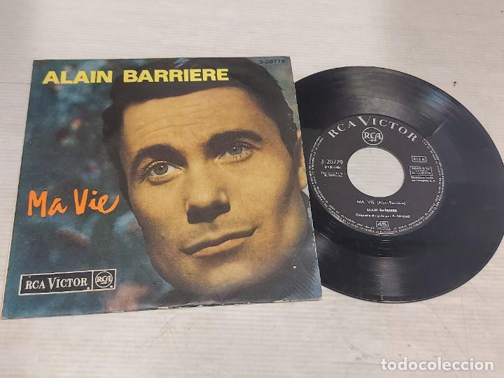 ALAIN BARRIERE / MA VIE / EP - RCA-VICTOR-1964 / MBC. ***/*** (Música - Discos de Vinilo - EPs - Canción Francesa e Italiana)