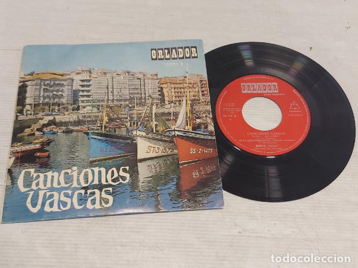 CANCIONES VASCAS / KUKU + 3 / EP - ORLADOR-1967 / MBC. ***/*** (Música - Discos de Vinilo - EPs - Country y Folk)