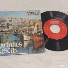 Discos de vinilo: CANCIONES VASCAS / KUKU + 3 / EP - ORLADOR-1967 / MBC. ***/***. Lote 278763068