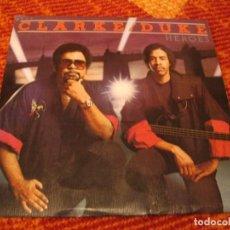 Discos de vinilo: CLARKE / DUKE SINGLE HEROES EPIC A UNA CARA PROMOCIONAL ESPAÑA 1983. Lote 278763243