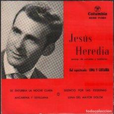 """Discos de vinilo: JESUS HEREDIA - DEL ESPECTACULO """"LUNA Y GUITARRA"""" / EP COLUMBIA 1960 / BUEN ESTADO RF-4925. Lote 278794463"""