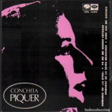 Discos de vinilo: CONCHITA PIQUER - ROMANCE DE LA OTRA, DIME QUE ME QUIERES.../ EP EMI / BUEN ESTADO RF-4927. Lote 278794658