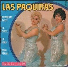 Discos de vinilo: LAS PAQUIRAS - PETENERAS TWIST, LA GENTE, LA HORA.../ EP BELTER / BUEN ESTADO RF-4932. Lote 278795073