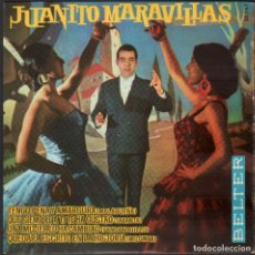 Discos de vinilo: JUANITO MARAVILLAS - TENGO PENA Y AMARGURA, UNA MUJER LO HA CAMBIADO.../ EP BELTER RF-4939. Lote 278796268