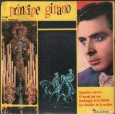Discos de vinilo: PRINCIPE GITANO - ZAPATITOS MORAOS, AL MORAL ME VOY.../ EP DISCOPHON 1960 / BUEN ESTADO RF-4941. Lote 278796458