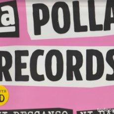Discos de vinilo: LA POLLA RECORDS – NI DESCANSO, NI PAZ! SELLO: CULTURA ROCK RECORDS – 87247. Lote 278798458