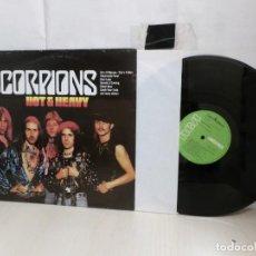 Discos de vinilo: SCORPIONS -HOT HEAVY--1985--RCA RECORDS--MADRID-. Lote 278799538