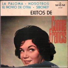 Discos de vinilo: CONNIE FRANCIS - LA PALOMA, NOSOTROS, EL NOVIO DE OTRA / EP MGM 1964 / BUEN ESTADO RF-4954. Lote 278800293