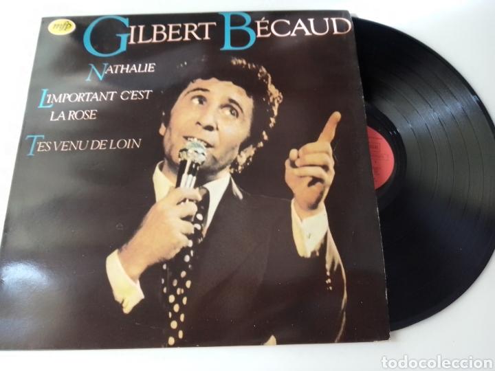 GILBERT BECAUD LP 1982 CHANSON (Música - Discos - LP Vinilo - Canción Francesa e Italiana)