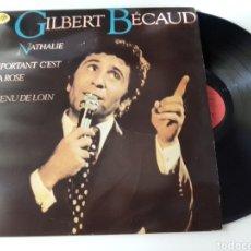 Discos de vinilo: GILBERT BECAUD LP 1982. Lote 278800808