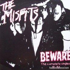 Discos de vinilo: THE MISFITS – BEWARE THE COMPLETE SINGLES 77 - 82 -LP-. Lote 278800843