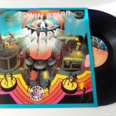 Discos de vinilo: EDWIN STARR LP HAPPY RADIO 1979 VG+. Lote 278801678