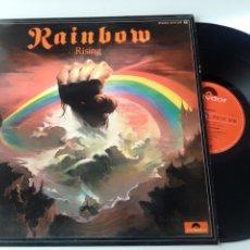 Discos de vinilo: RAINBOW LP RISING 1976 VG+. Lote 278802688