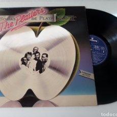 Discos de vinilo: THE PLATTERS LP BODAS DE PLATA 1981. Lote 278803773