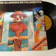 Discos de vinilo: MFSB LP EL SONIDO DE FILADELFIA 1974. Lote 278804158