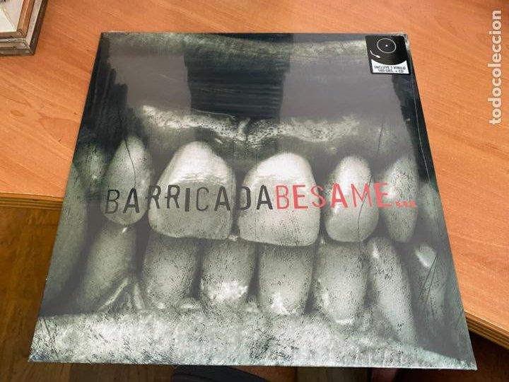 BARRICADA (BESAME) LP 180 GRS + CD PRECINTADO SEALED 2020 (B-32) (Música - Discos - LP Vinilo - Heavy - Metal)