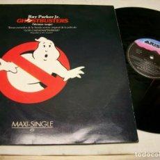 Discos de vinilo: GHOSTBUSTERS BANDA SONORA ORIGINAL MAXI-SINGLE LP. Lote 278814468