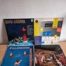 Discos de vinilo: VILLANCICOS. Lote 278814938