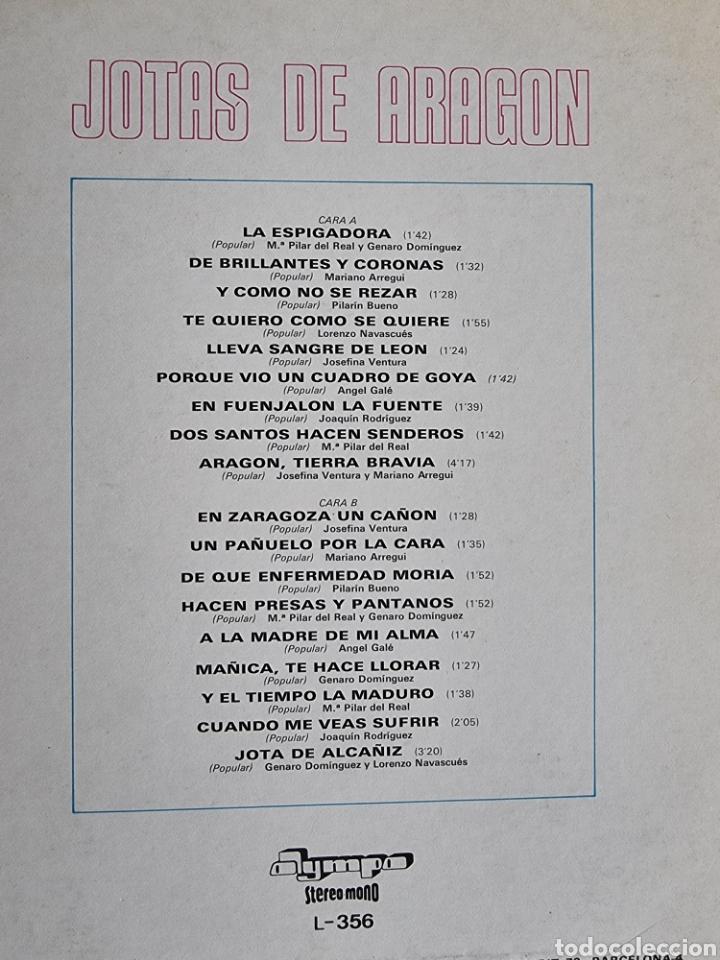 Discos de vinilo: Jotas de Aragon - Foto 3 - 278816788