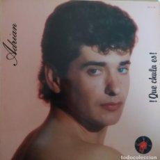 "Discos de vinilo: 12"" ADRIAN - ¡QUE CHULA ES! - TUBOESCAPE TEL-3 - SPAIN PRESS - MAXI (EX+/EX+). Lote 278817273"