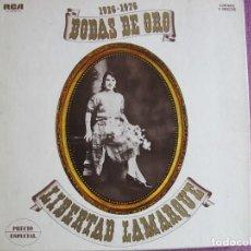 Discos de vinilo: LP - LIBERTAD LAMARQUE - BODAS DE ORO 1926-1976 (CAJA CON 3 LP'S Y LIBRETO, SPAIN, RCA 1976). Lote 278819298